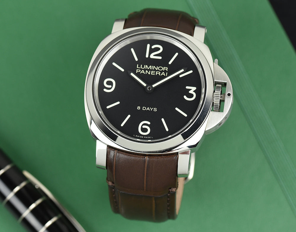 panerai leather watch bands