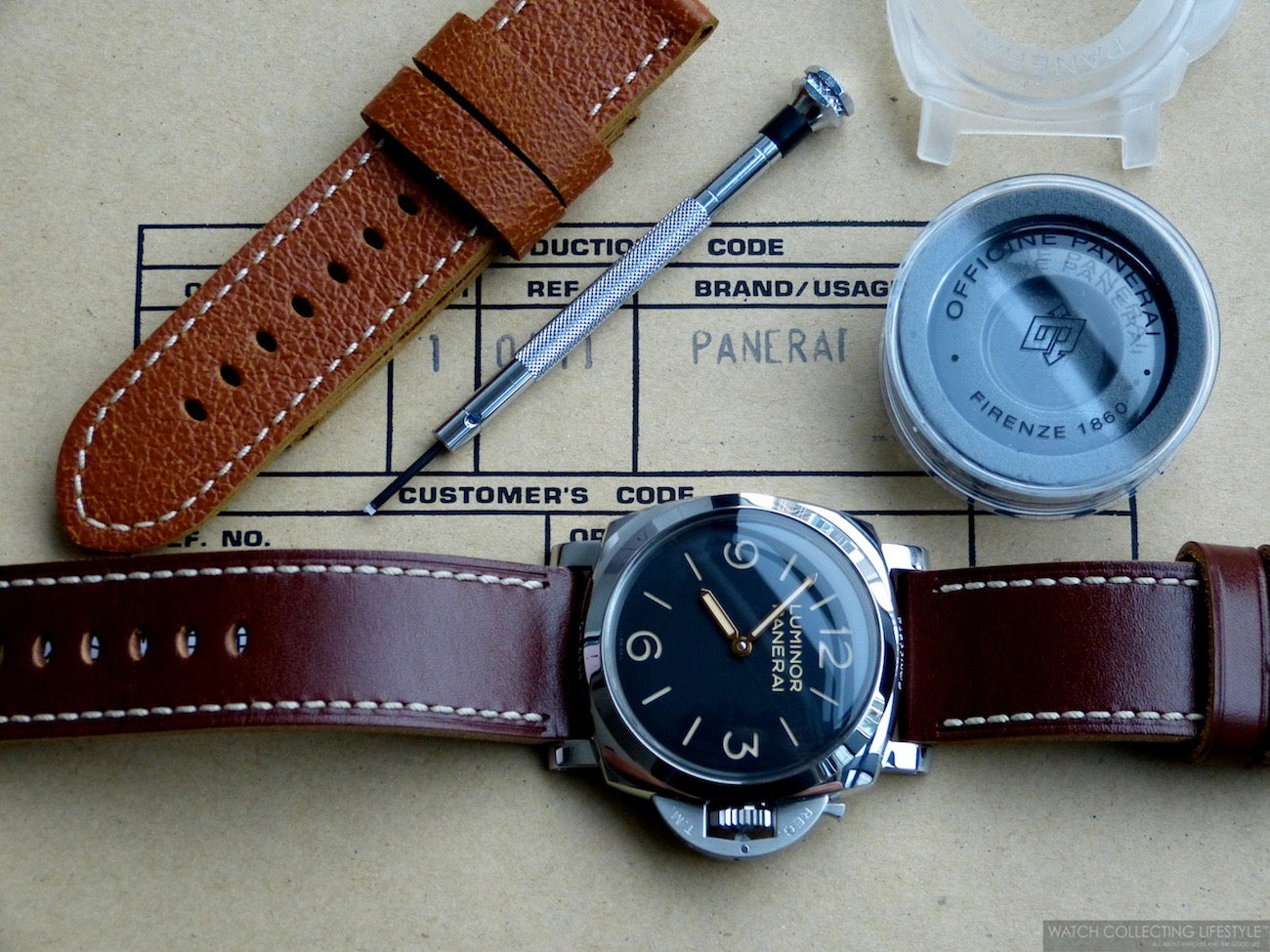 panerai watch bands