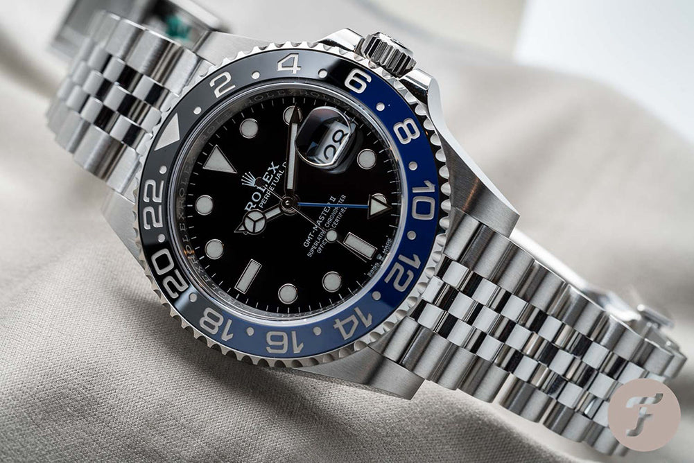 rolex gmt on jubilee