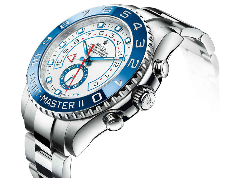 yacht-master II stainless steel