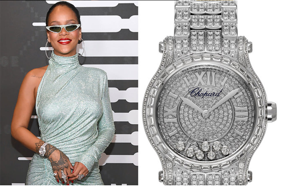 rhianna and rolex