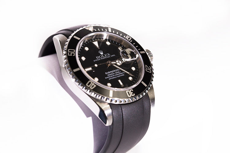 The New Everest Rubber Deployant for Rolex Buckle