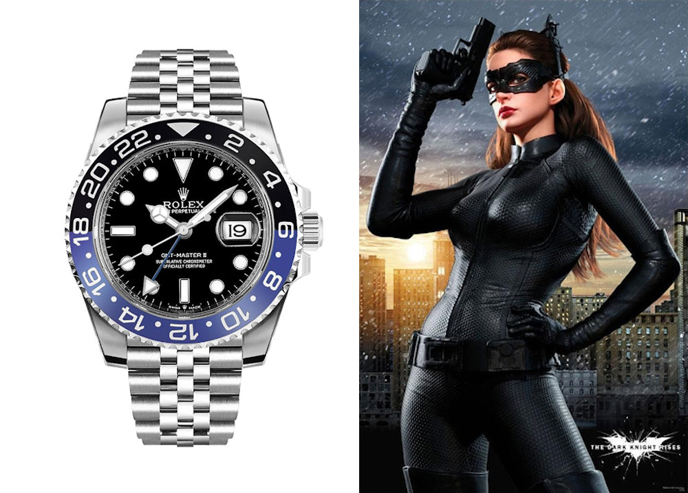 rolex batgirl watch band