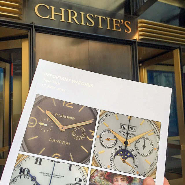 @horologyandtechnology christie's watch auction