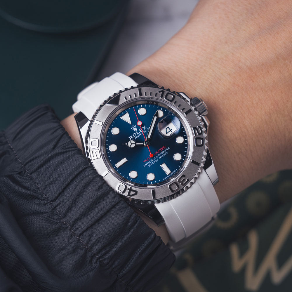 white rubber on Yacht-Master Rolex