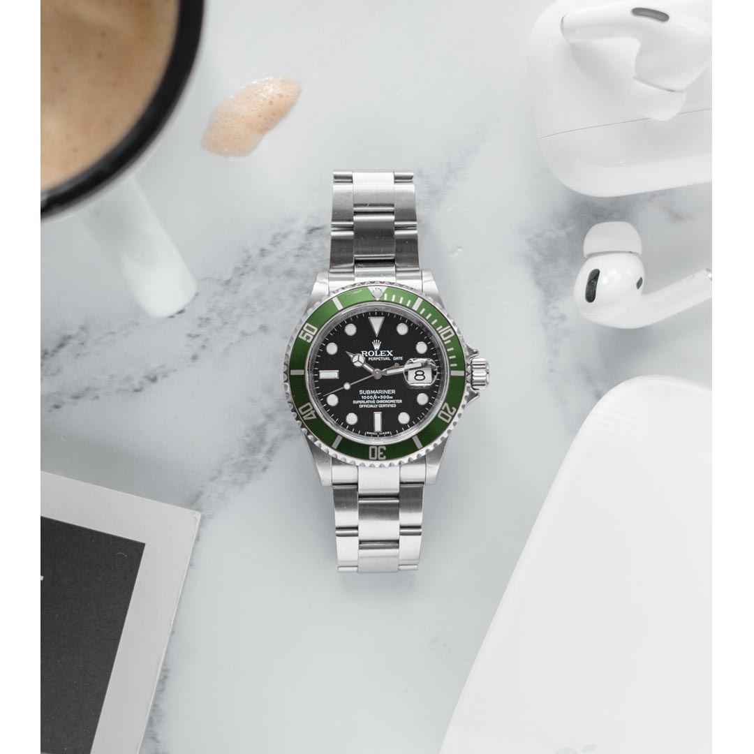Bark and Jack Instagram Rolex Submariner 16610 LV
