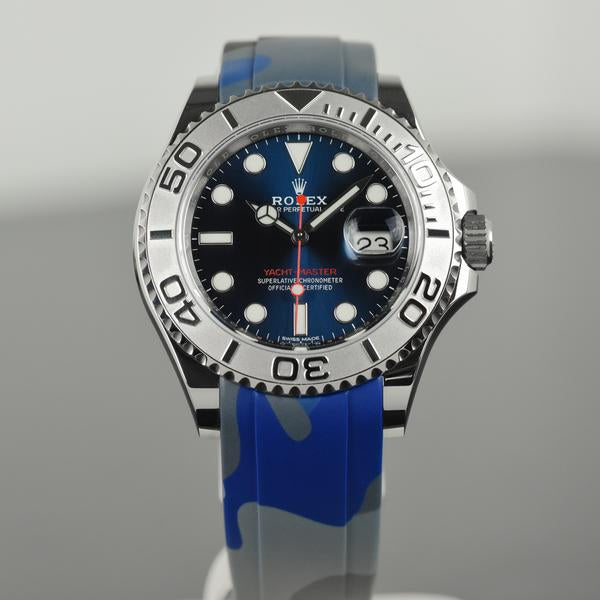 camo rubber rolex yachtmaster