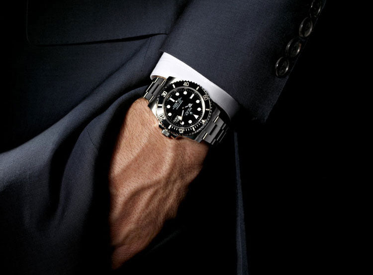 A gentleman and his Rolex