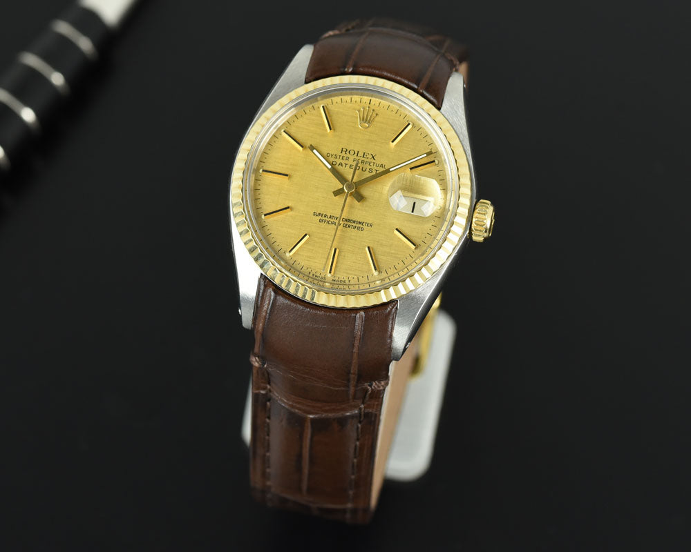 leather strap for Rolex datejust