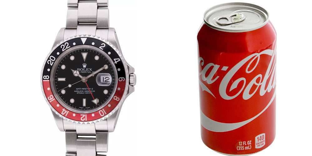 rolex coke watch band