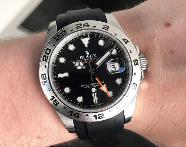 rolex explorer watch band