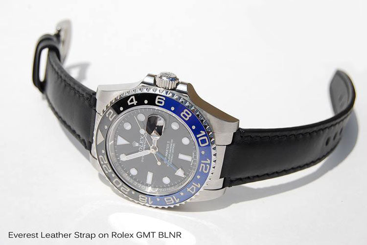 116710 GMT Master II BLNR Leather
