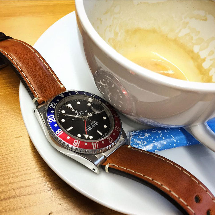 GMT Master II Everest Leather
