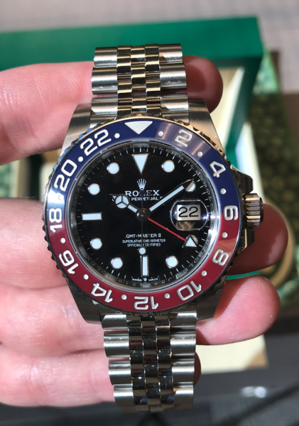 rolex gmt watch strap