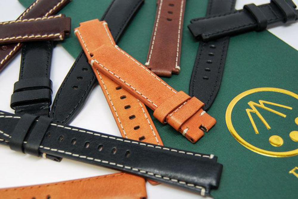 rolex on leather watch strap