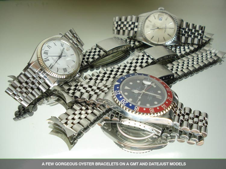 Rolex Oyster Perpetual Clasp and Bracelet Options , The