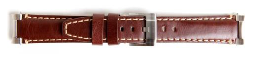 rolex brown leather watch strap