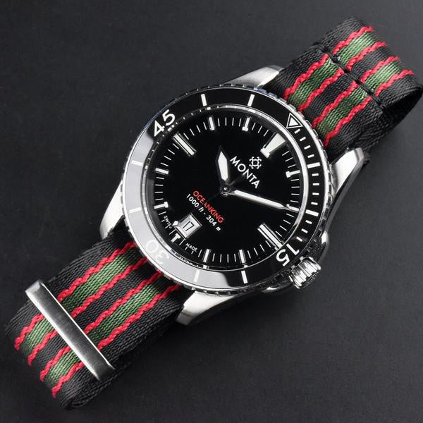 monta nato watch band