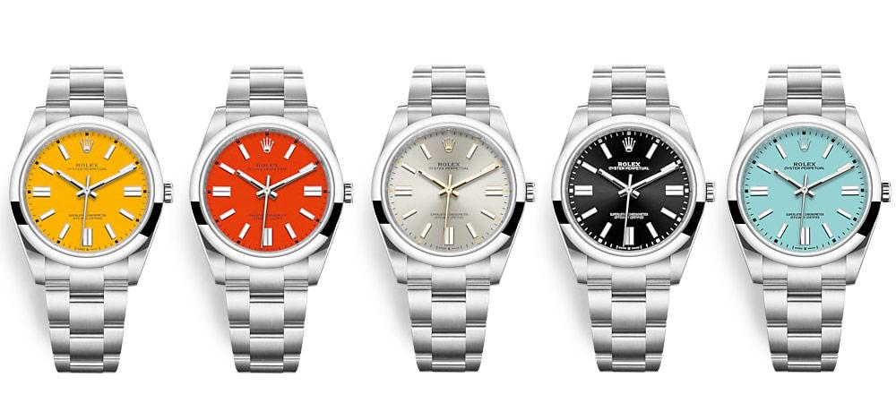 rolex oyster perpetual models
