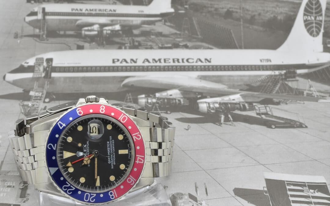 pan am and rolex gmt image