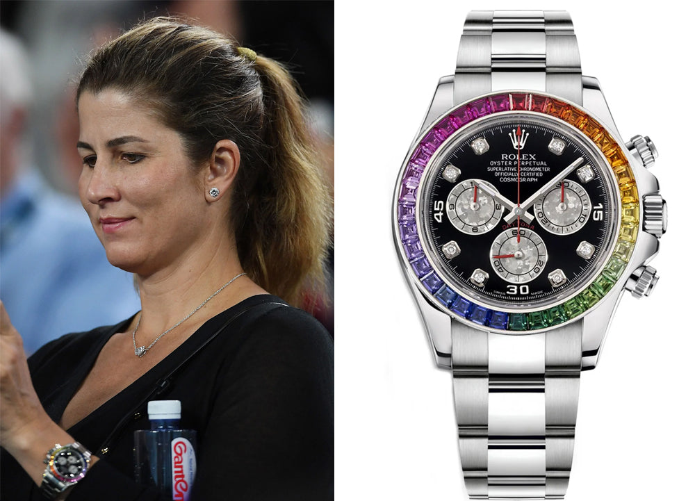 top paid athletes and their watches