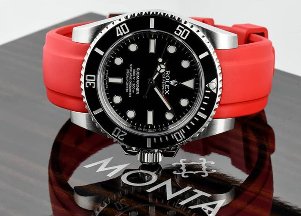 red everest band on rolex on MONTA watch box