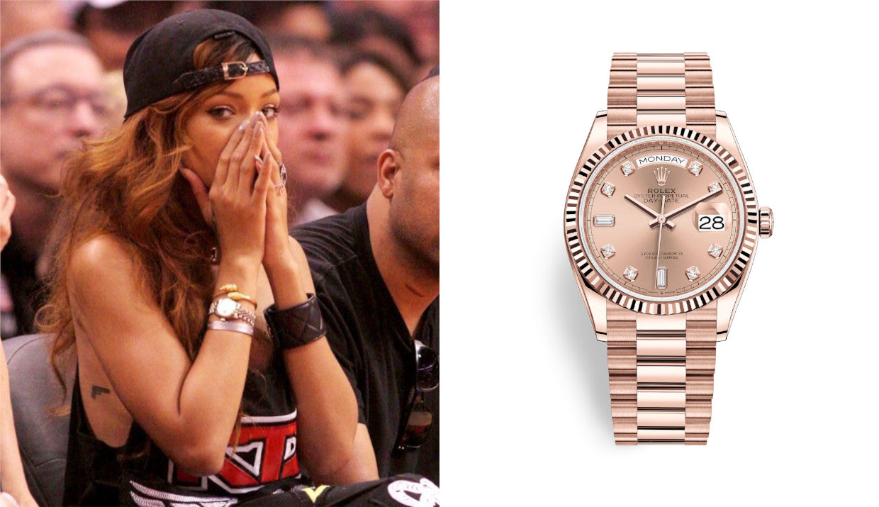 rolex and rhianna
