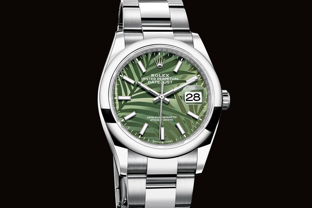 Palm Dial Datejust on Oyster