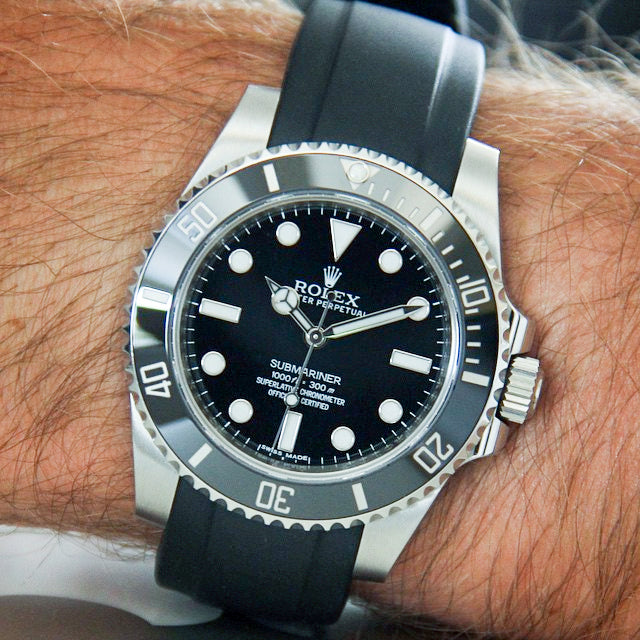 rolexdiver everest rubber submariner