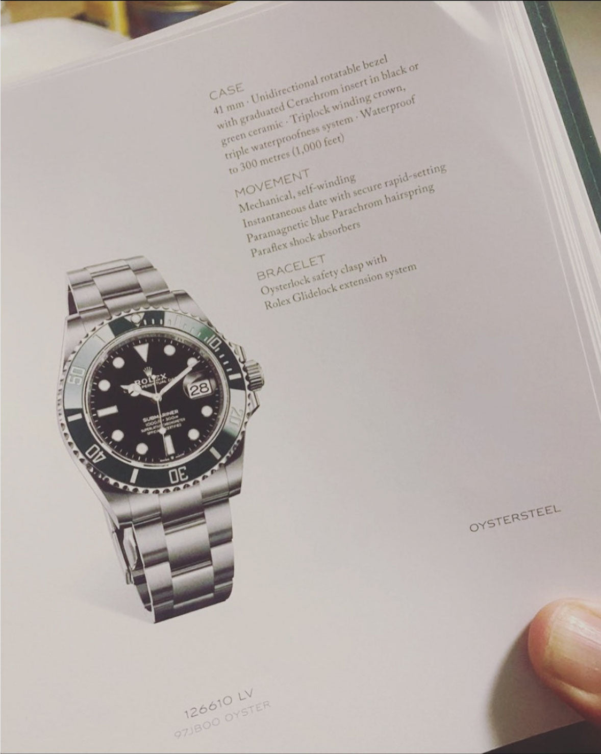 Secret picture of 2020 Rolex submariner release