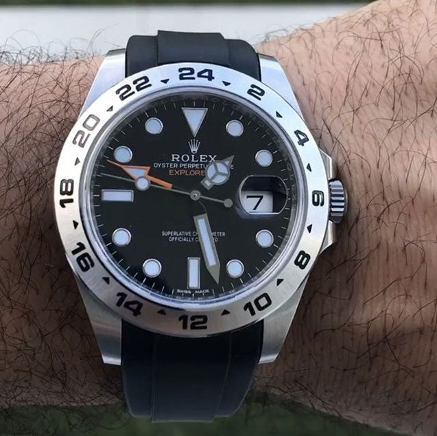 watch strap for rolex explorer 2