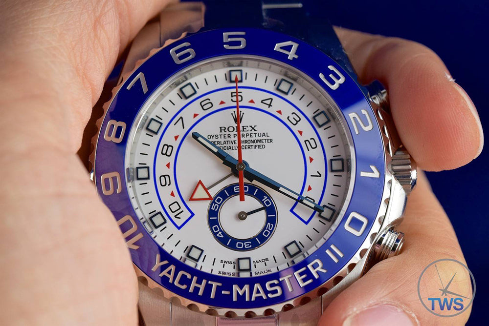 how to use a yacht-master Ii
