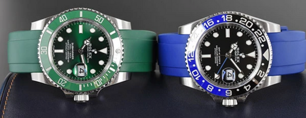 rolex submariner verses rolex gmt