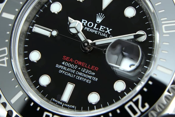 Rolex sea-dweller face