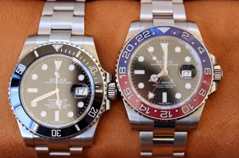 rolex watches gmt and submariner