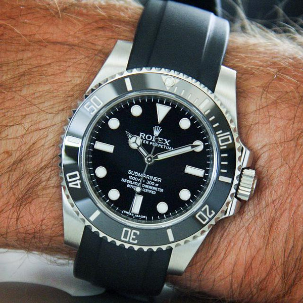 rubber watch band submariner