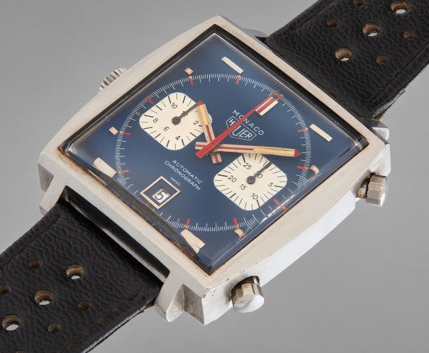tag heuer watch at auction