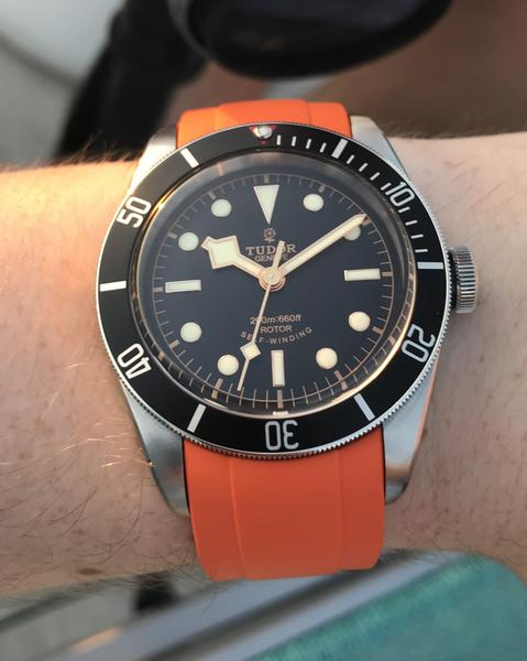 tudor black bay watch band