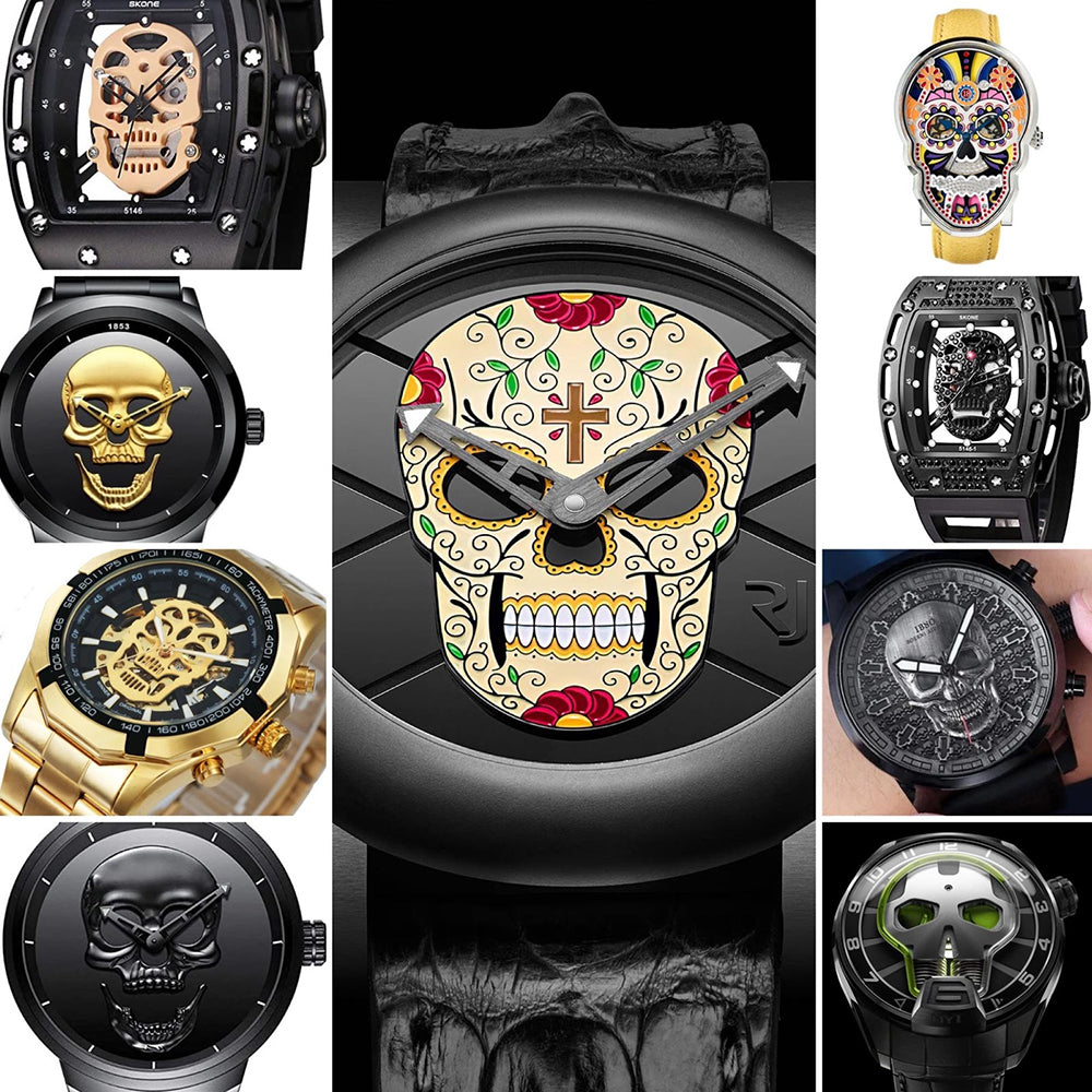 A Boo-tiful collection of Rolex Skull Mods