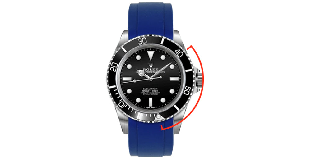 rubber watch band for rolex submariner