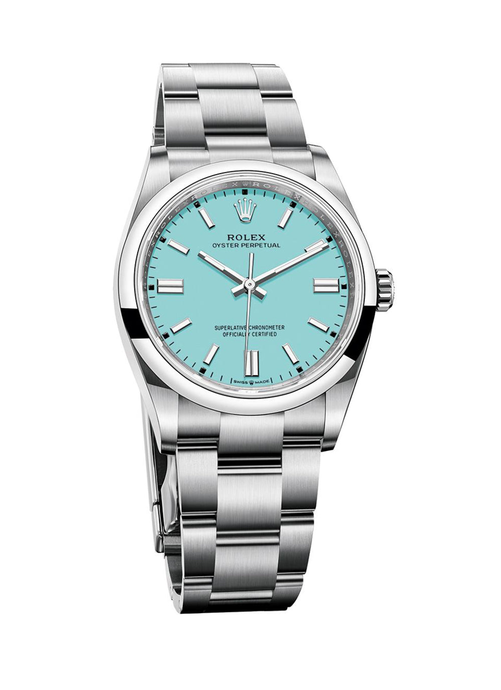 new rolex oyster perpetuals tiffany blue