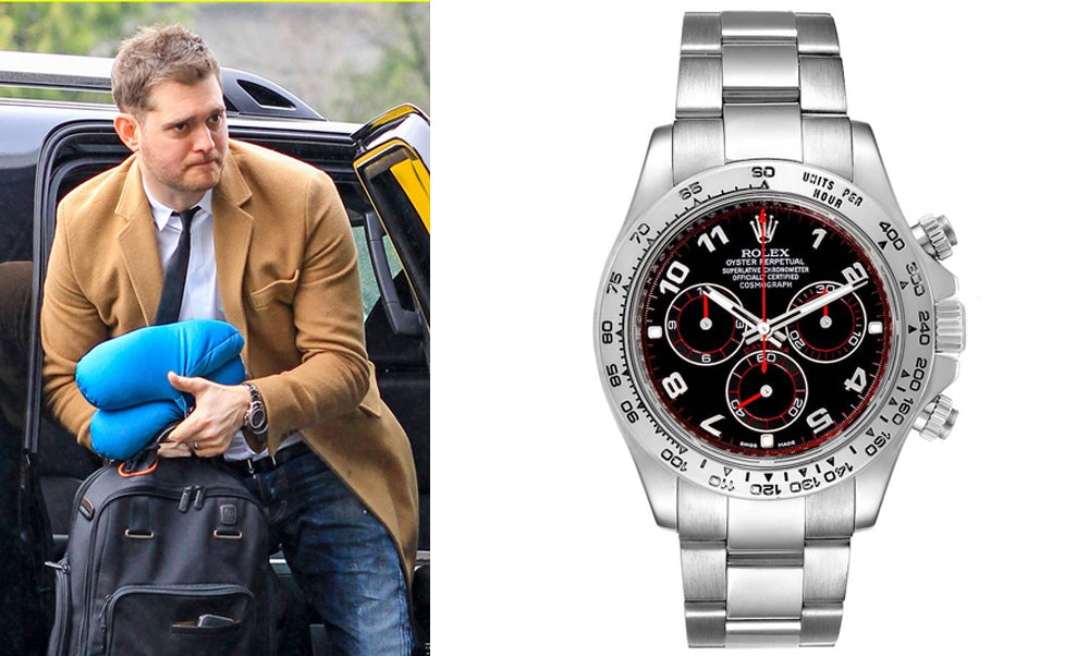 rolex and michael buble