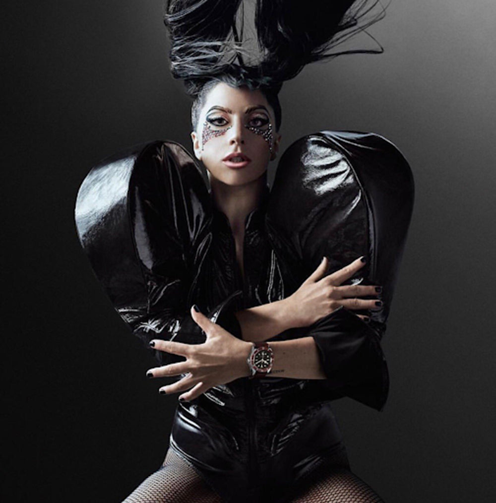 tudor watch strap lady gaga