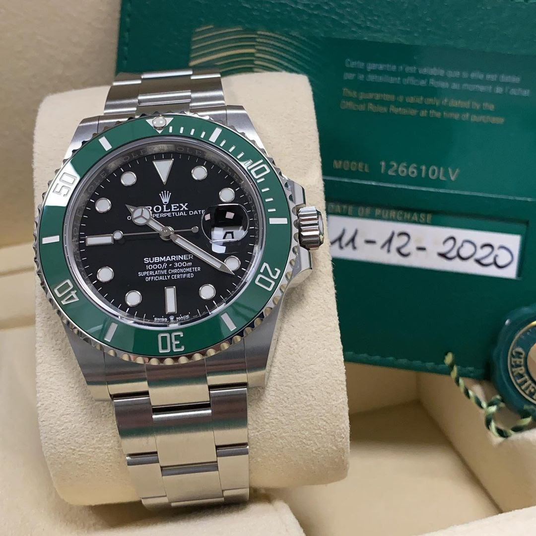 Rolex Submariner reference 126610LV