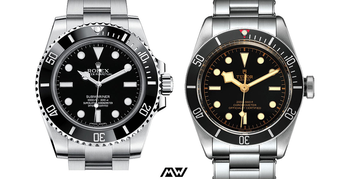 tudor black bay 58 versus submariner no date