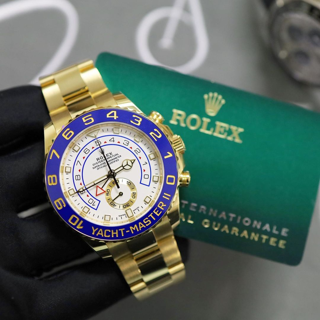 gold rolex yachtmaster