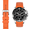 Rolex Daytona Orange Rubber strap
