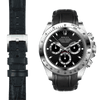 Rolex Daytona black alligator leather watch strap