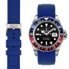 Rolex GMT blue rubber watch strap