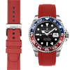 Rolex GMT Red Rubber watch strap